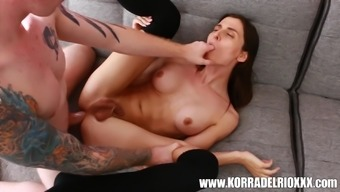 sexy tranny Korra Del Rio gets her tight ass pounded by a stranger