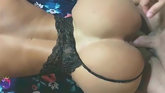 Big ass MILF asks for rough anal. Hot busty whore