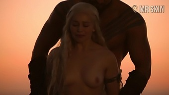 Dany loves Drogo and that man doesn't go easy on her during this hot sex scene