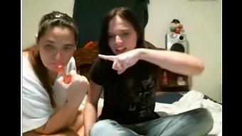 Real Mother and Daughter From Tennessee Playing Together on Webcam
