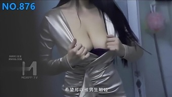 Chinese AV originals, Madou Studio, dirty bitch with natural tits
