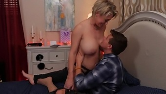 Mom's Money - Dee Williams fucks young cock