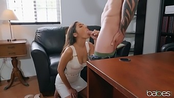 Gianna Dior is the cheating bride-to-be, getting sex from her counselor