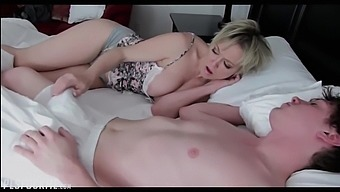 Step Mom Sharing Bed With Son