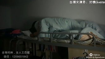 A bowl in a Chinese girls' dormitory