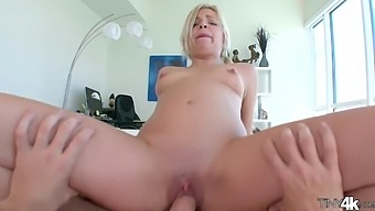 Teen Blonde Alex Little And Her Father Hardcore
