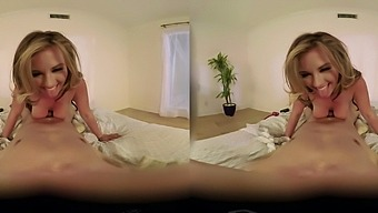 POV video with horny MILF sucking a dick - Alice Lighthouse